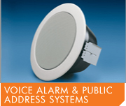 Voice Alarm and Public Address Systems